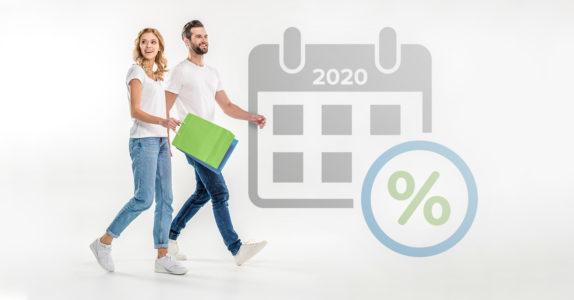 Calendário de saldos e promoções para 2020