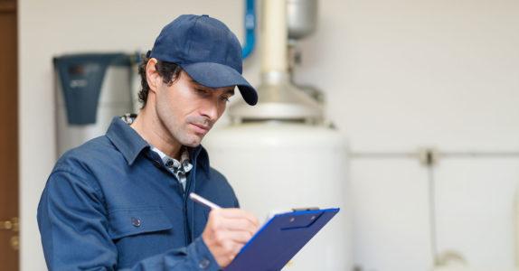 Em que situações é necessário fazer uma inspeção de gás?
