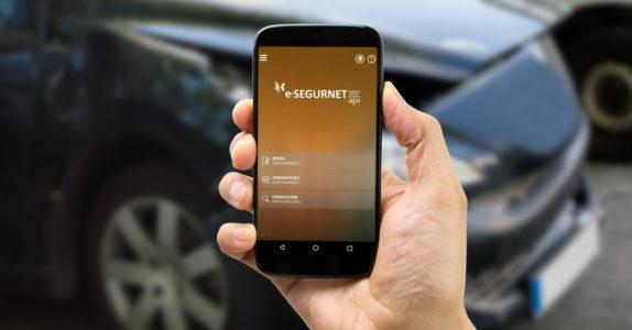 Saiba como participar um sinistro online através da app e-SEGURNET