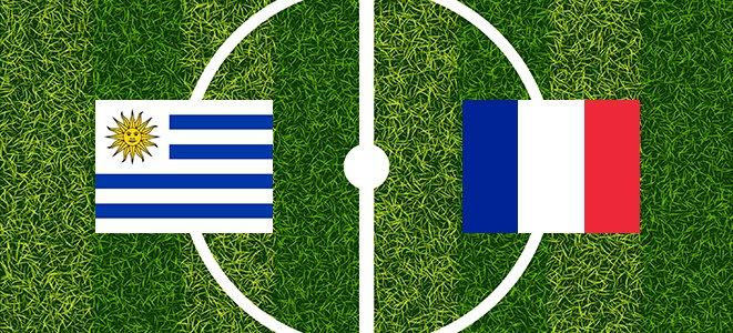 Frankreich Vs Uruguay