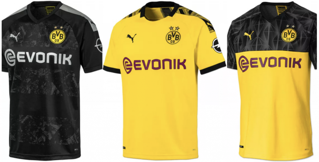 Alle Trikots der Bundesliga Saison 20192020