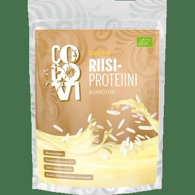 Yksityinen: POISTUNUT TUOTE—Riisiproteiini 500 g – maustamaton