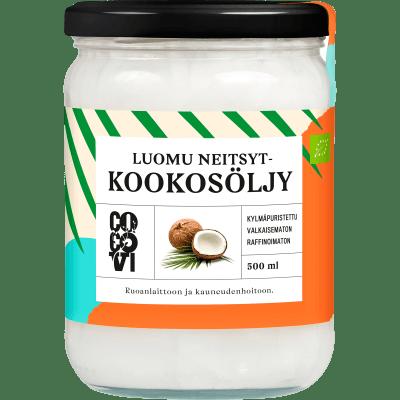 Kylmäpuristettu Kookosöljy 500 ml