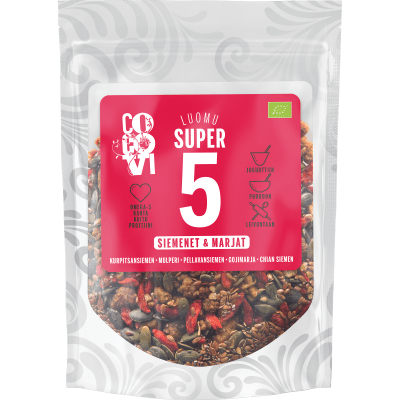 Super5 Siemenet & Marjat 260 g
