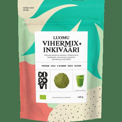 Vihermix+Inkivääri 140 g