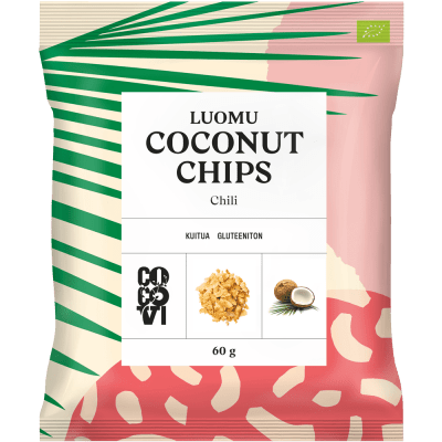Coconut Chips Chili 60 g