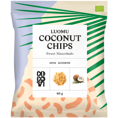 Coconut Chips Sweet Mascobado 60 g