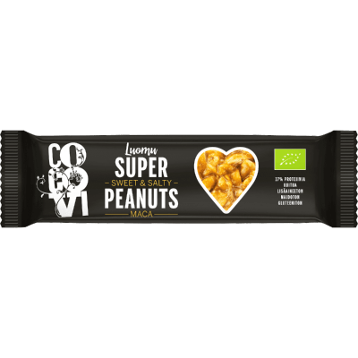 Super Peanuts Maca (24 kpl / laatikko) (TARJOUSERÄ, PVM. 25.06.19)