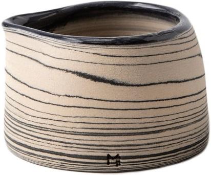 Masuma Ceramics - Masuma Ceramics Lacivert Sütlük