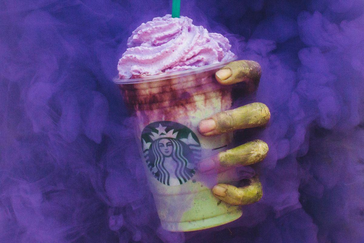 Starbucks Cadılar Bayramı: Zombi Frappuccino