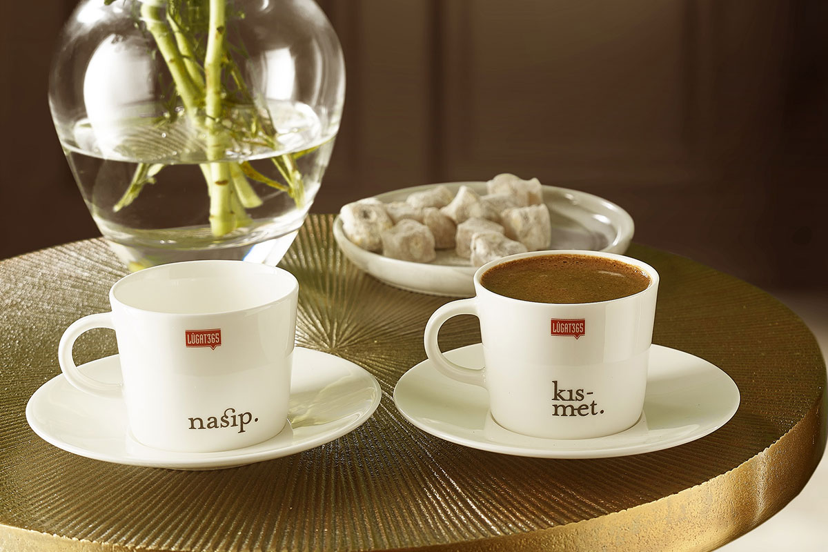 "Paşabahçe, ""Nasip Kısmet"" Fincan Setiyle Kahve Keyfini Katlıyor"