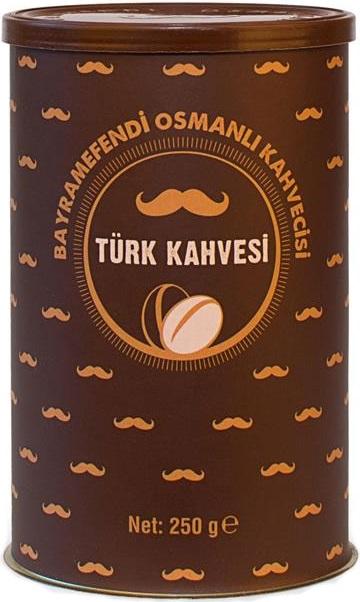 Bayramefendi Osmanlı Kahvecisi - Bayramefendi Osmanlı Kahvecisi Türk Kahvesi 250 G