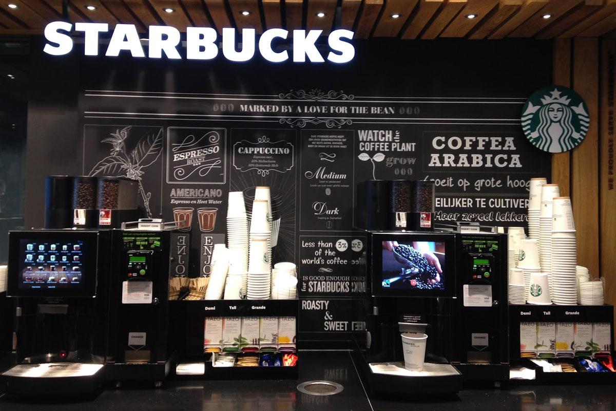 Starbucks On The Go İle Self Servis Kahvenizi Alıyorsunuz