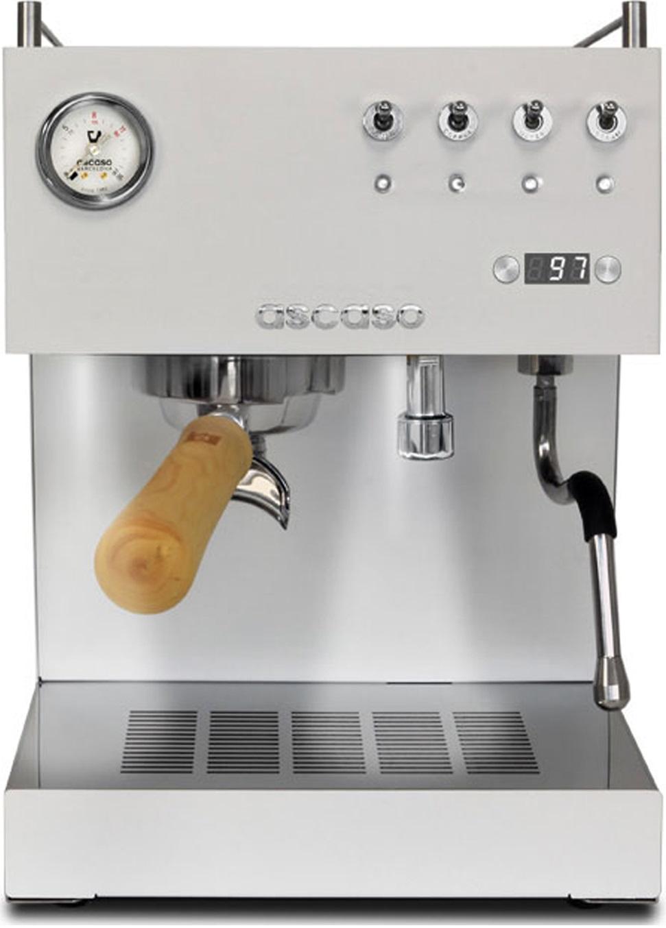 Ascaso - Ascaso Duo PID Beyaz Espresso Makinesi