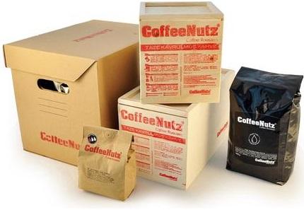 CoffeeNutz - CoffeeNutz Amatör Kavurucu Yeşil Kahve Çekirdeği Seti 500 G