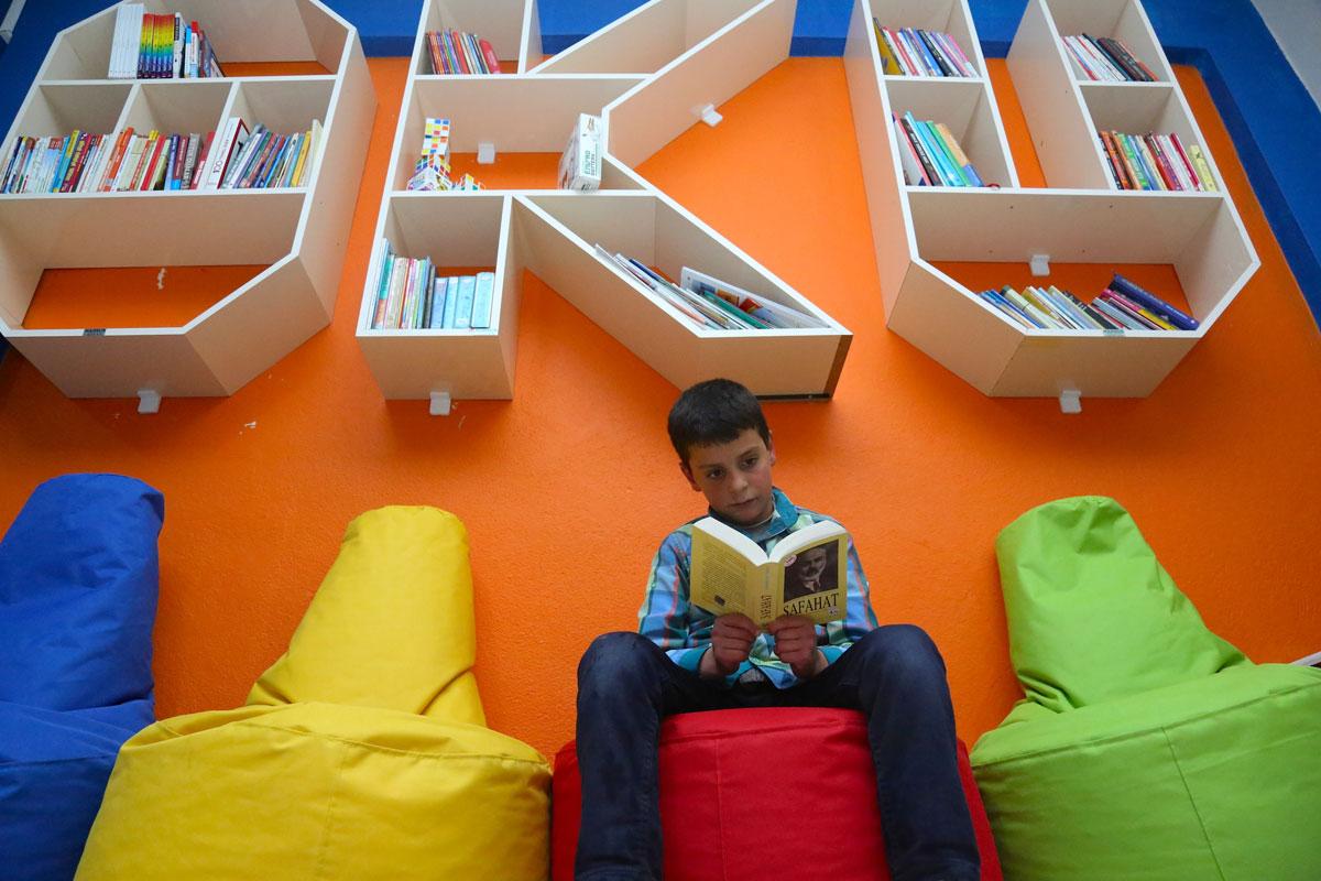 Bayburt'ta Köy Çocuklarının Hayal Kafesi: Kıraat Kafe