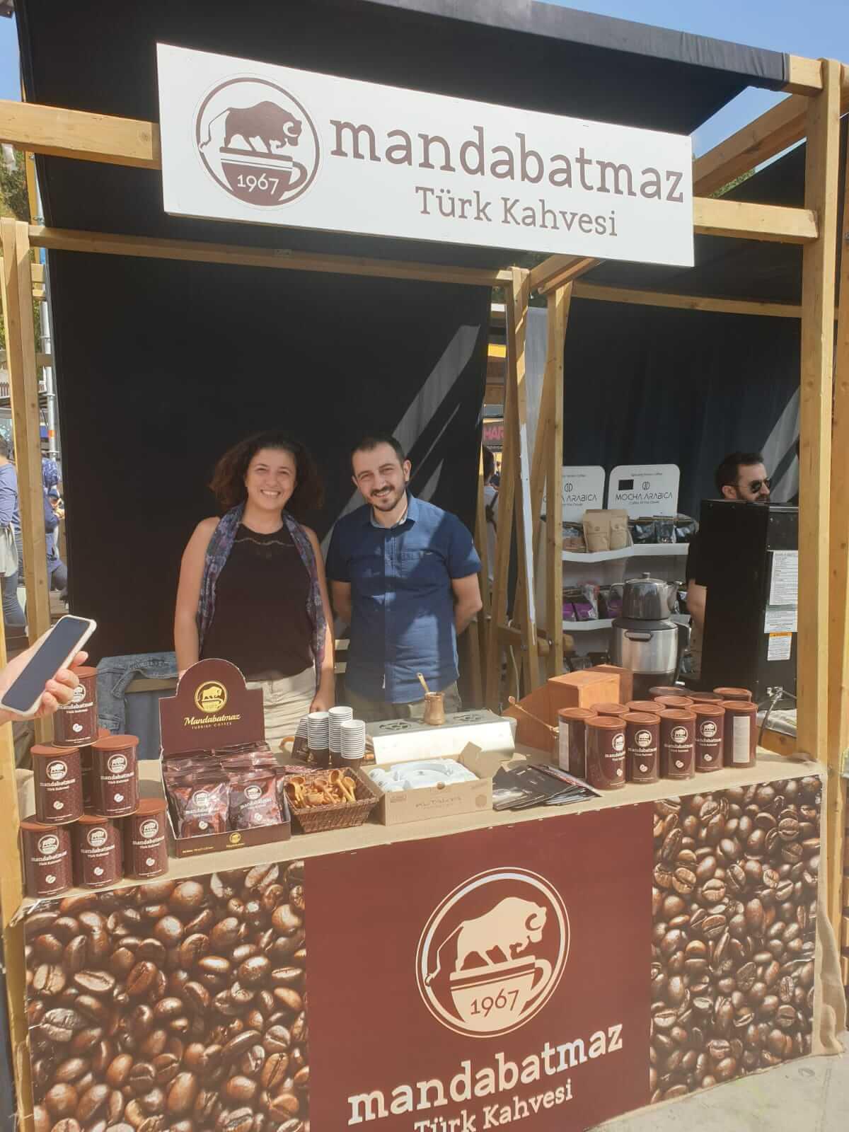 Mandabatmaz, Köpüğüyle Ünlü Türk Kahvesiyle Festivalde