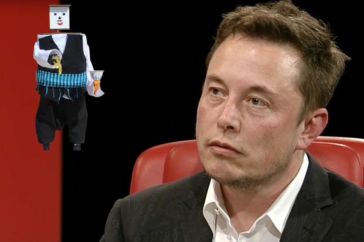 Elon Musk Çaresiz: Liseli Öğrencinin Yaptığı Robot, Kahve İkram Ediyor