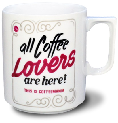 Coffeemania Lovers Mug