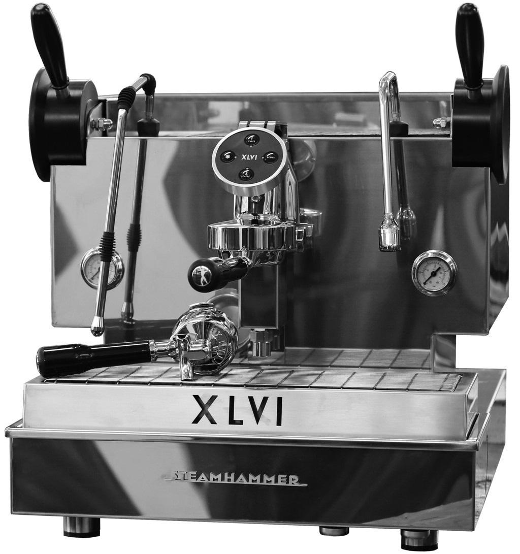 XLVI - XLVI Electronic Steamhammer 1 Grup Espresso Makinesi