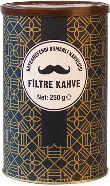 Bayramefendi Osmanlı Kahvecisi Filtre Kahve 250 G