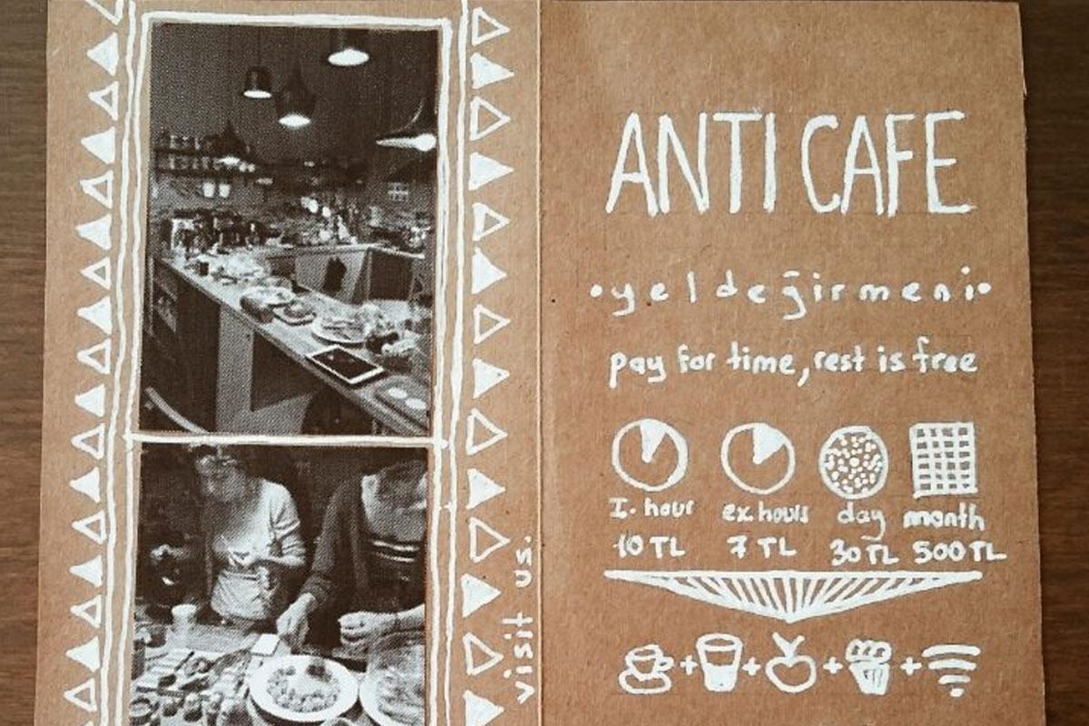 Türkiye'nin İlk Sadece Zamana Ücret Ödenen Kafesi - Anti Cafe