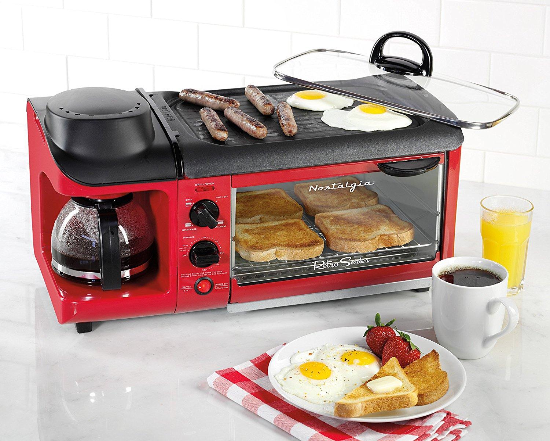 3-in-1 Retro Kahvaltı İstasyonu