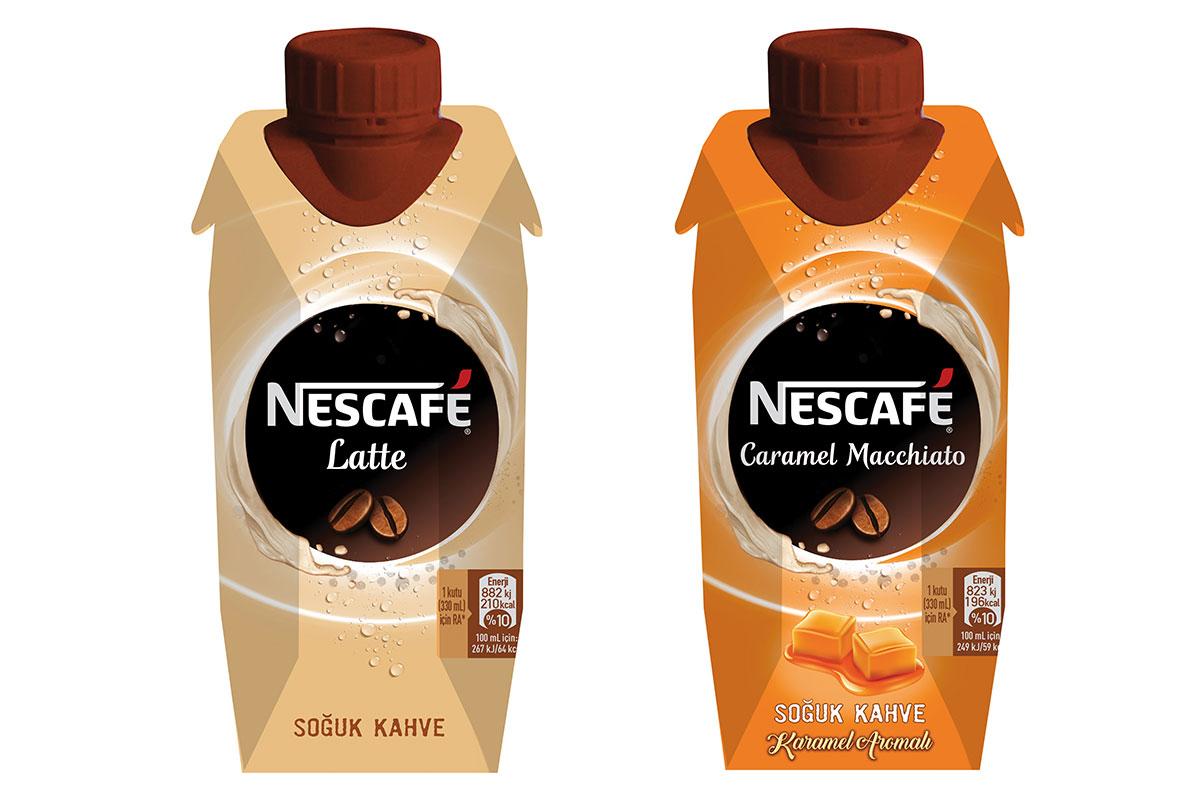 Nescafé'nin Yeni Latte Serisi ile Soğuk Kahve Keyfi Her An Her Yerde