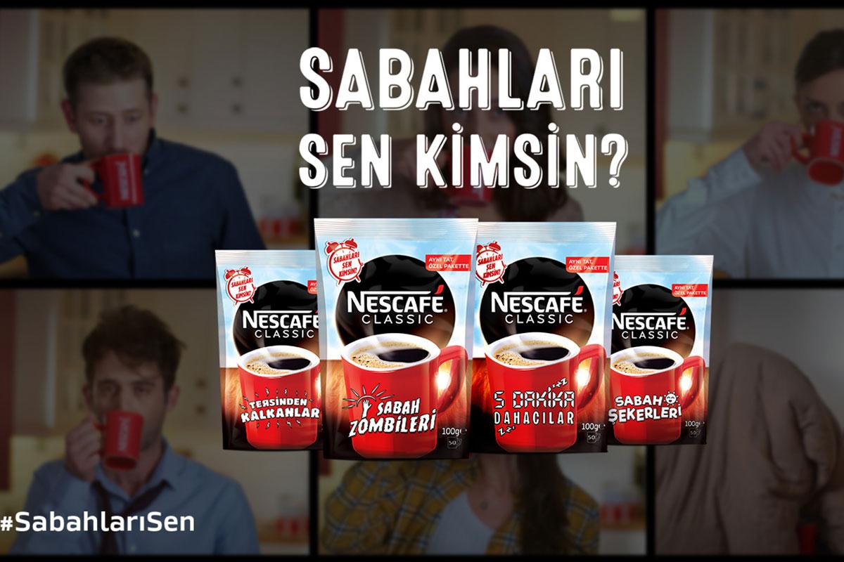 """Nescafe Classic Tekrar Soruyor; """"Sabahları Sen Kimsin?"""""""