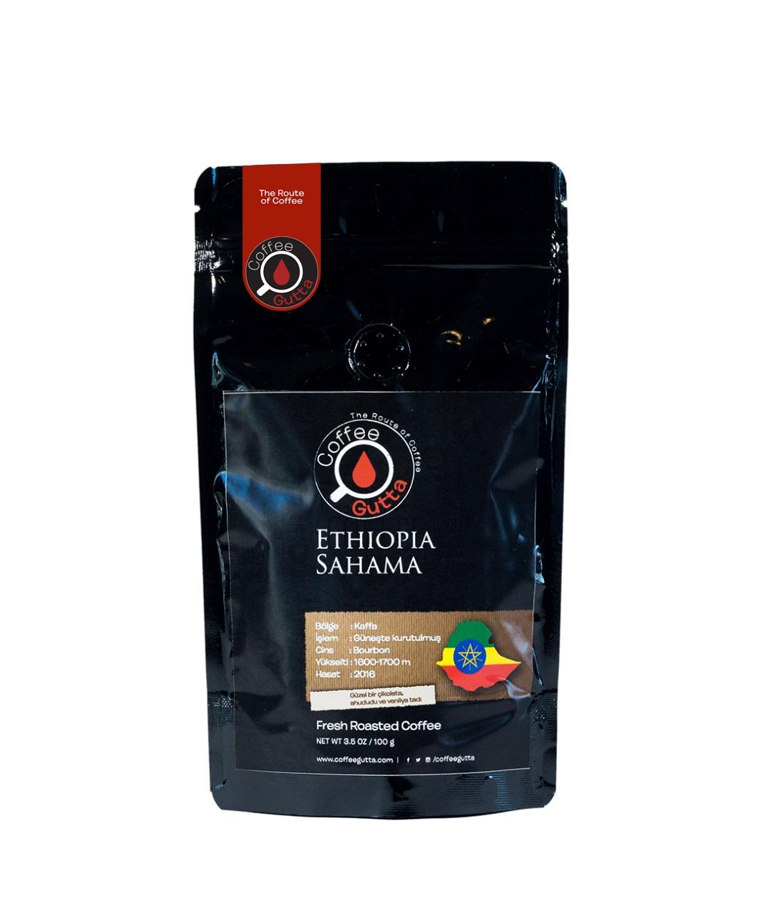 Coffee Gutta Ethiopia Sahama Kahve 100 G