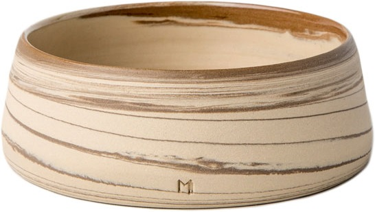 Masuma Ceramics - Masuma Ceramics Kahverengi Büyük Kase