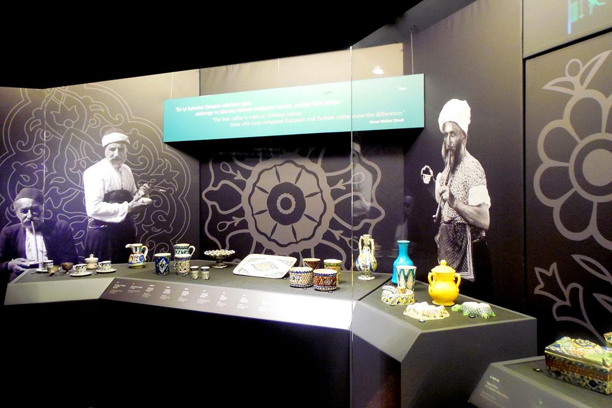 Kahve Molası: Kütahya Çini ve Seramiklerinde Kahvenin Serüveni - Galeri