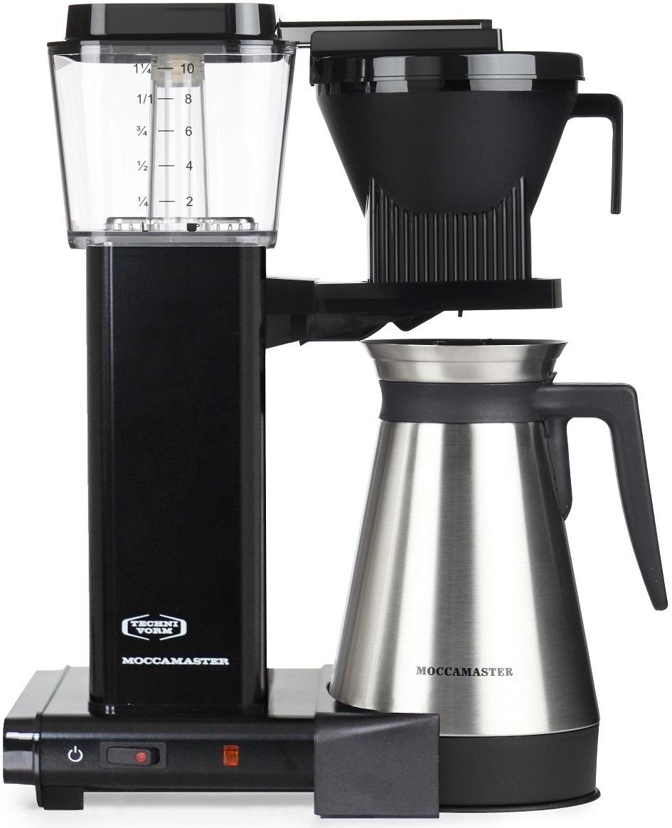Moccamaster - Moccamaster KBGT 741 Filtre Kahve Makinesi Siyah