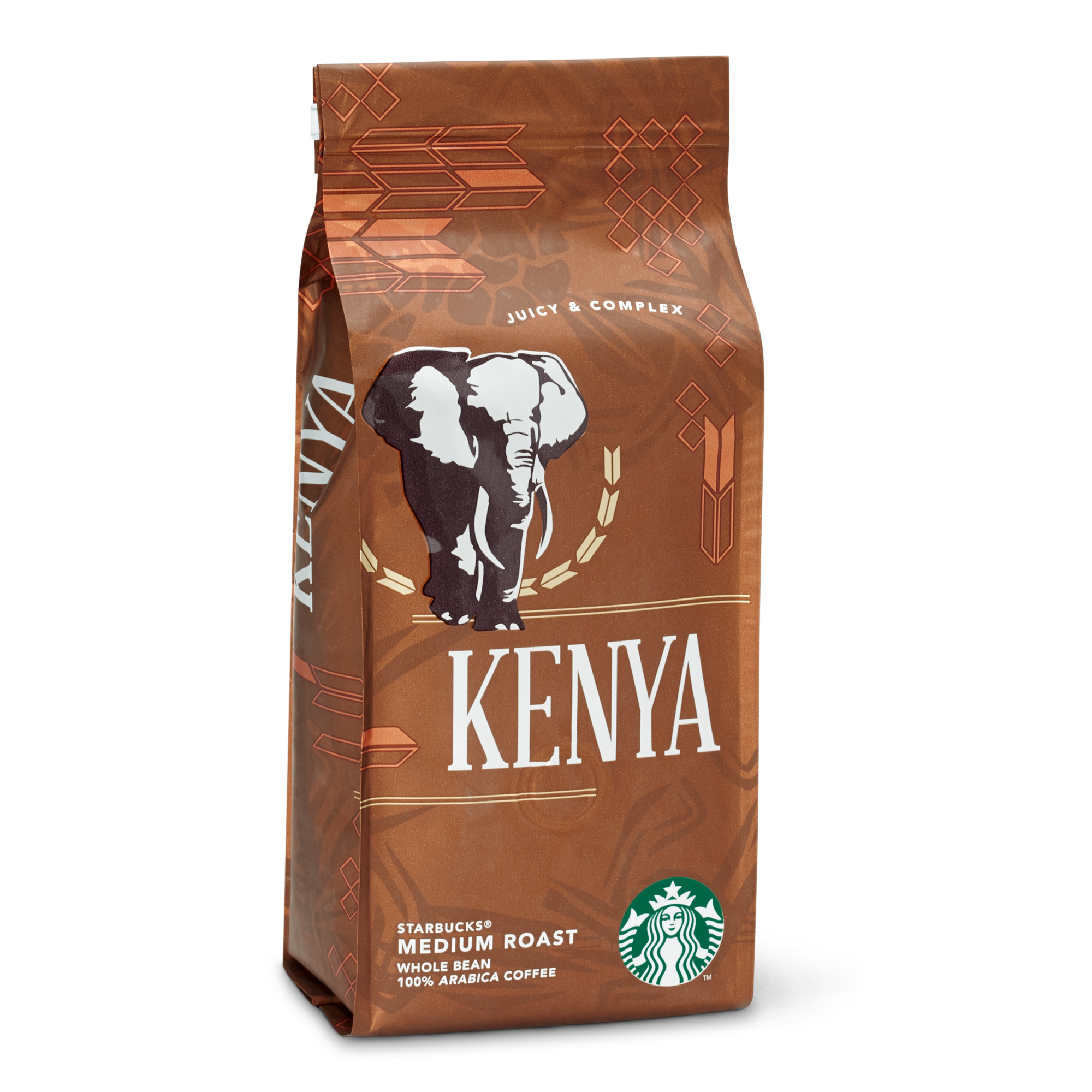 Starbucks Kenya Medium Roast Çekirdek Kahve 250 G