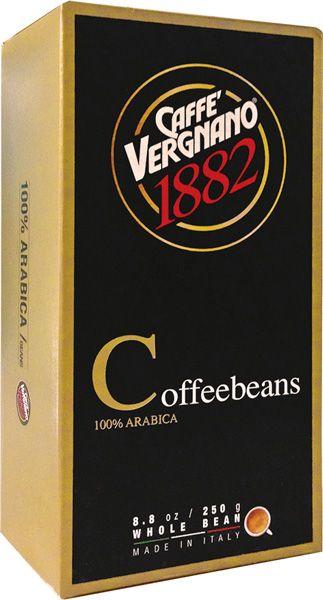 Caffe Vergnano - Caffe Vergnano 100% Arabica Çekirdek Kahve 250 G