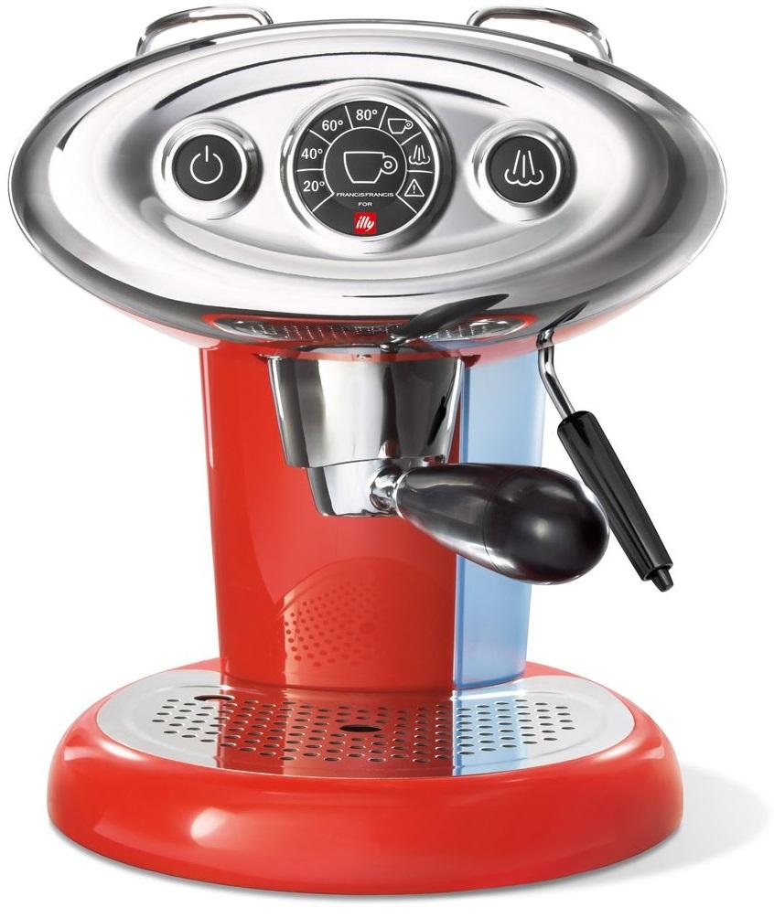 Illy - Illy Francis Francis X7.1 Kapsüllü Kahve Makinesi Kırmızı