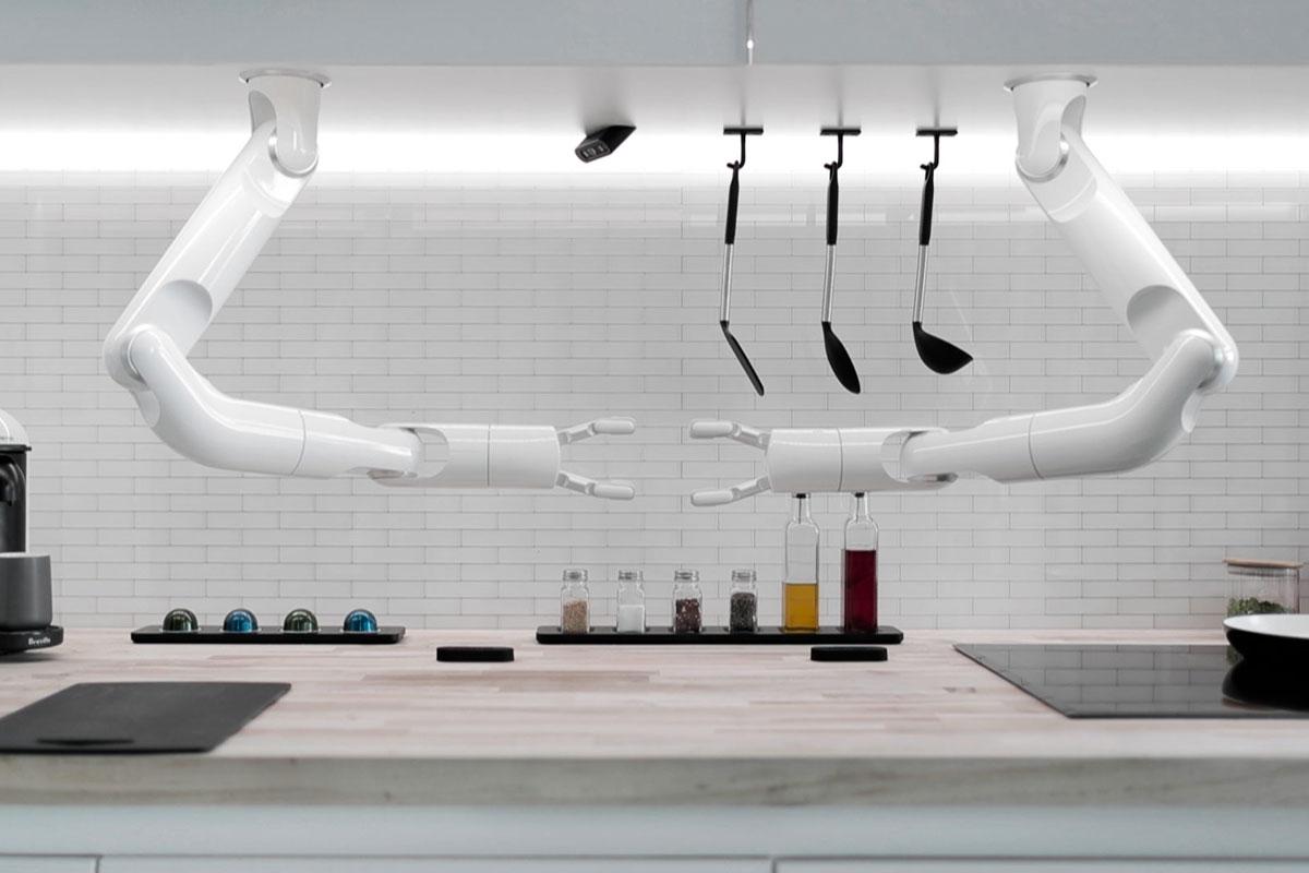 Yemek Hazırlayabilen Robot Şef Tanıtıldı