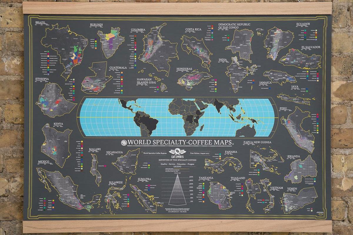 Dünya Nitelikli Kahve Haritası