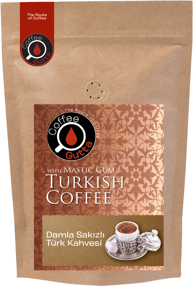 Coffee Gutta - Coffee Gutta Damla Sakızlı Türk Kahvesi 100 G