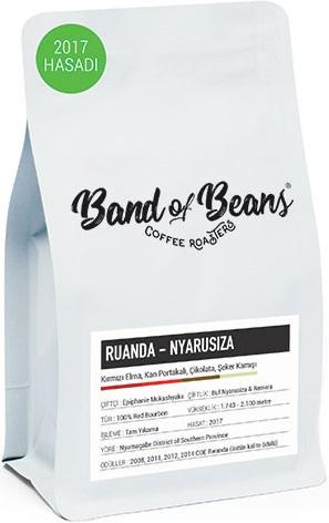 Band of Beans - Band of Beans Ruanda Nyarusiza Kahve 250 G