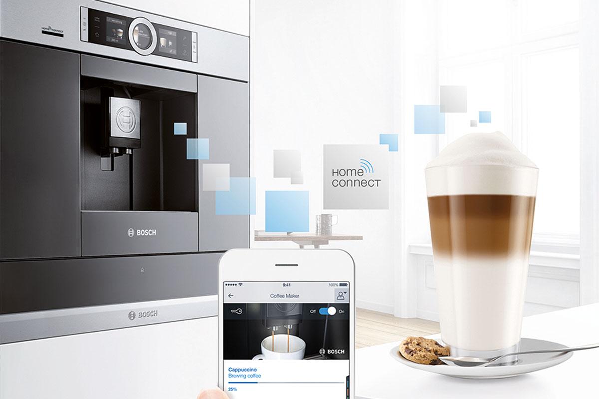 Bosch Home Connect İle Babanıza Uzaktan Kahve Keyfi Yaşatın