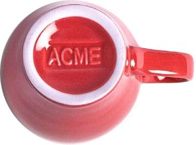 Acme - Acme Demitasse Kırmızı Fincan