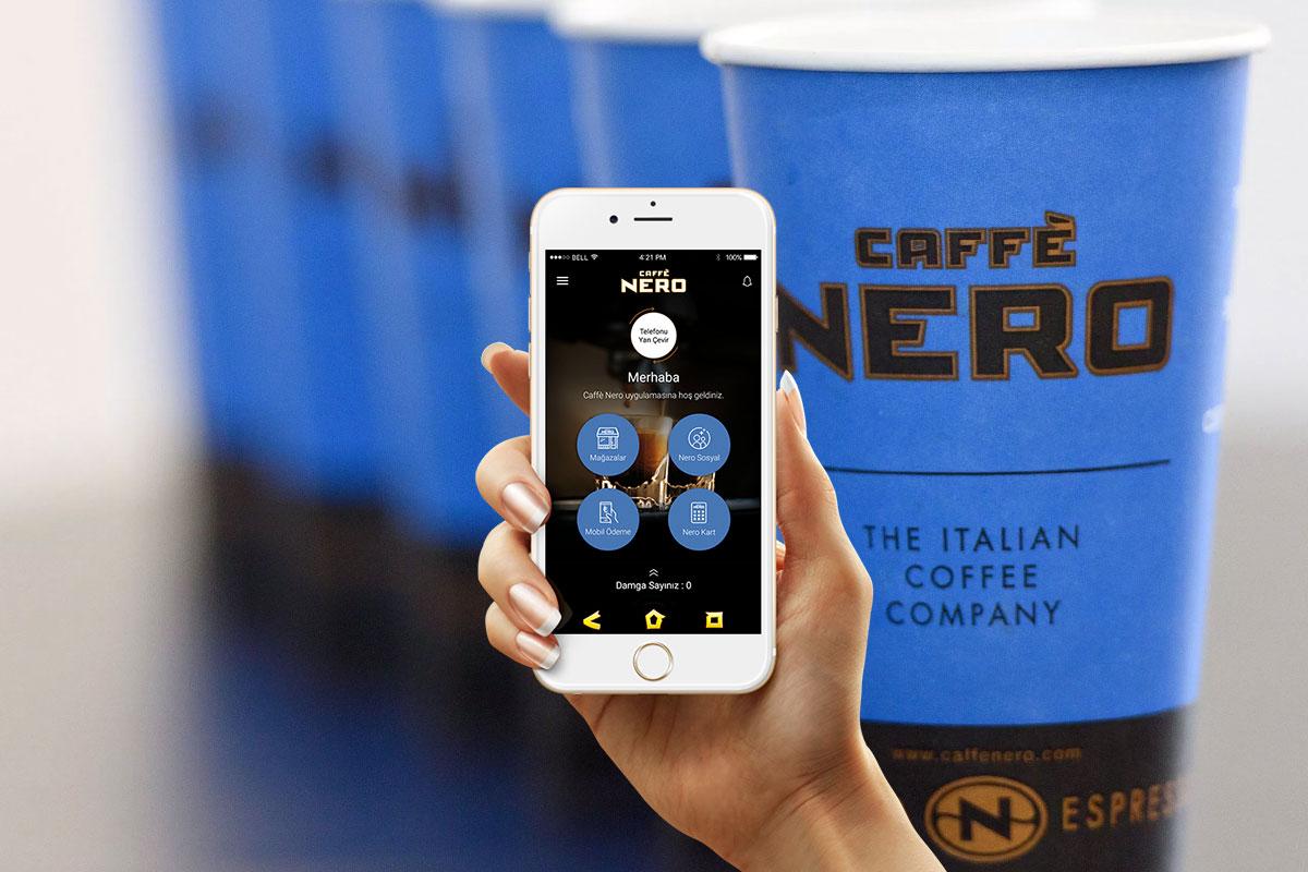Caffè Nero Mobil Uygulamasını Yeniledi