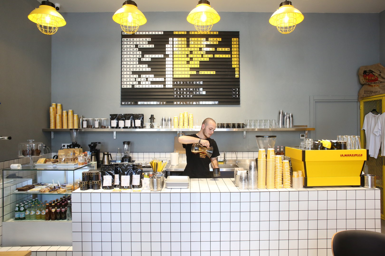 Walter's Coffee Emaar Square Mall