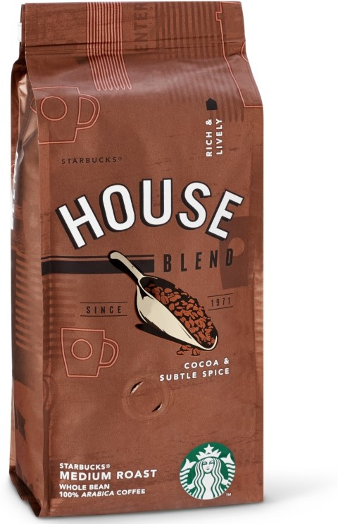 Starbucks House Blend Medium Roast Çekirdek Kahve 250 G