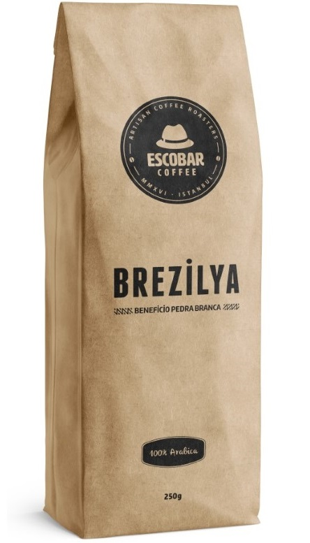 Escobar Coffee - Escobar Coffee Brezilya Beneficio Pedra Branca Kahve 500 G
