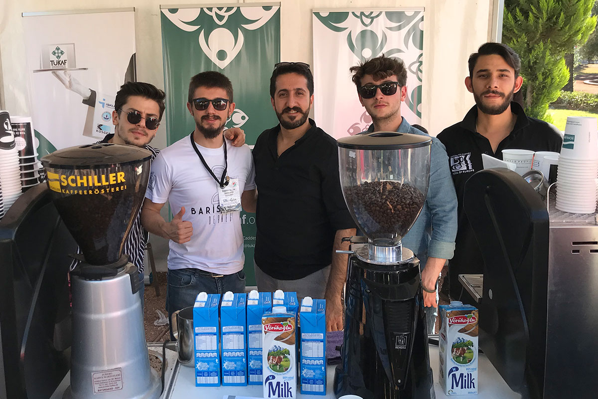 TÜKAF, Baristalar Derneği İle Festivaldeydi