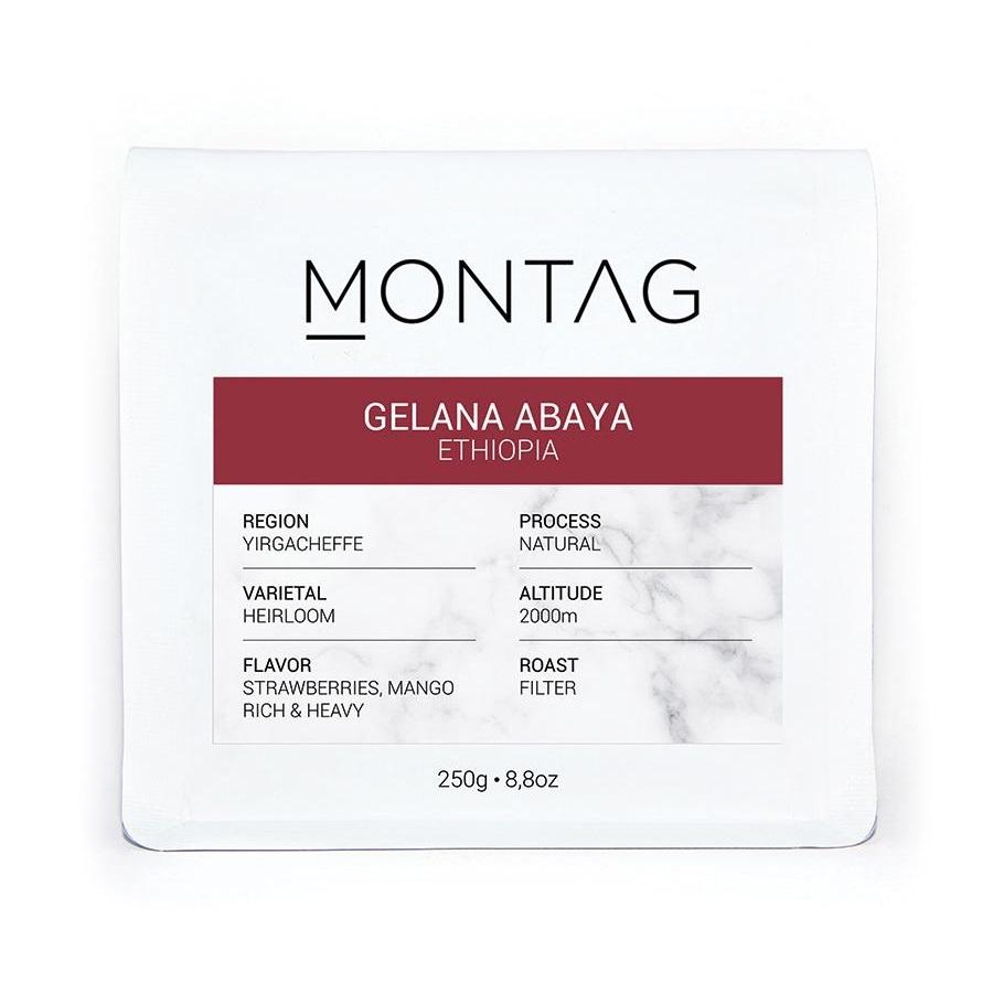 Montag - Montag Ethiopia Gelena Abaya Kahve 1000 G