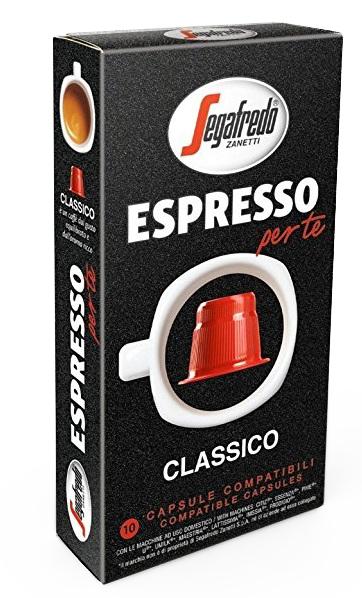 Segafredo - Segafredo Classico Nespresso Uyumlu Kapsül Kahve - 80 Kapsül