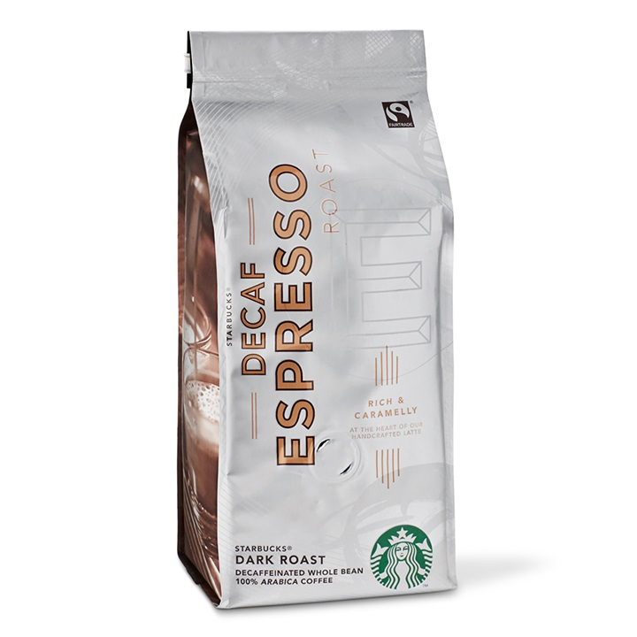 Starbucks Decaf Espresso Dark Roast Çekirdek Kahve 250 G